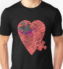 saw heart Unisex T-Shirt