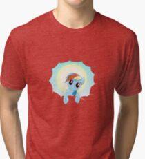 Rainbow Dash Cloud Appearance Tri-blend T-Shirt
