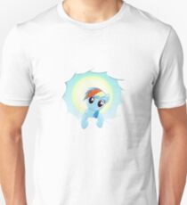 Rainbow Dash Cloud Appearance Unisex T-Shirt