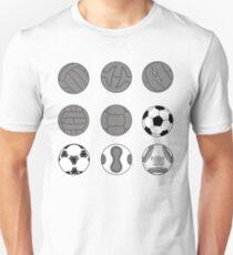 Evolution of the Ball Unisex T-Shirt