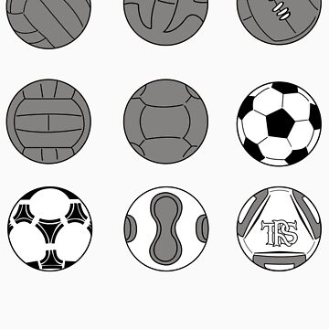 Evolution of the Ball by TheReserveSquad