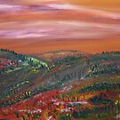 Morning Hills by James Bryron Love