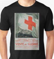 Croix Rouge française Union des Femmes de France Vente de guerre T-Shirt