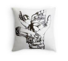 Procrastination Monday's Throw Pillow