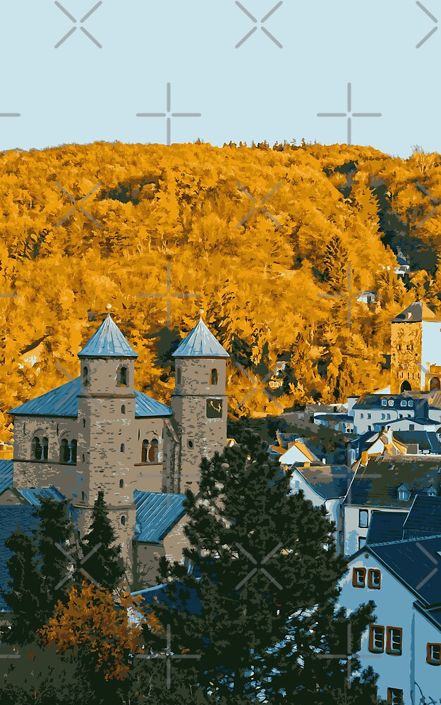 Autumn in Bad Muenstereifel by Vac1
