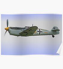 Me 109 Bouchon - Shoreham Airshow 2012 Poster
