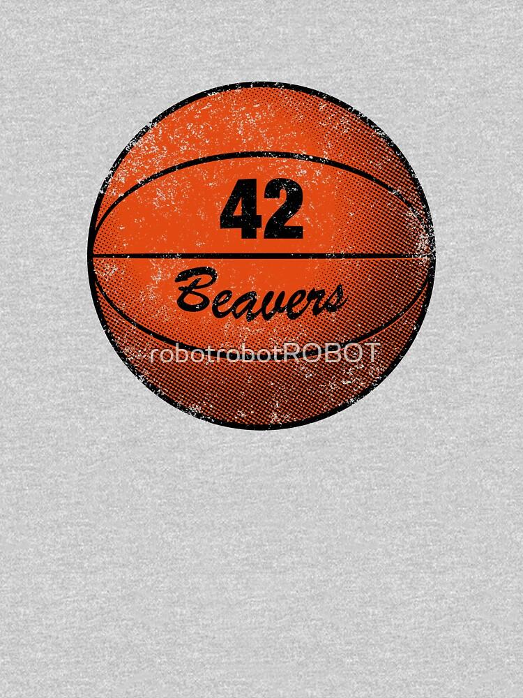 Beavers 42 Basketball T-shirt