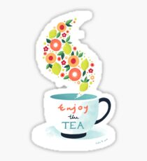 Enjoy the Tea Sticker