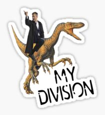 lestrade's division Sticker