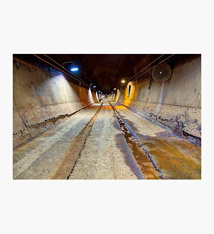 """World War II Oil Tunnel - Darwin"" Photographic Print"