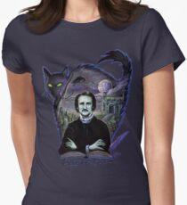 Edgar Allan Poe Gothic Women's Fitted T-Shirt