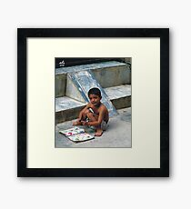 ABC........................... Framed Print
