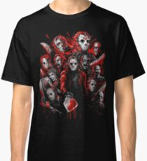 Jason Voorhees (Many faces of) Classic T-Shirt