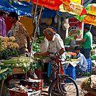 Market Biker by phil decocco
