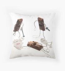 Caramilk Security Throw Pillow