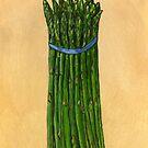 asparagus for us by bernzweig