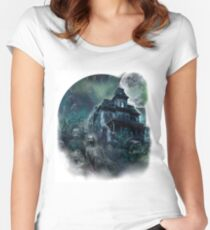 The Haunted House Paranormal Women's Fitted Scoop T-Shirt