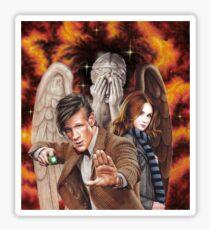 Matt Smith ; The Time of Angels Sticker
