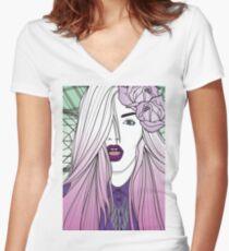 Ermahgerd! Women's Fitted V-Neck T-Shirt