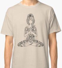 Yoga Om Chakras Mindfulness Meditation Zen 3 Classic T-Shirt