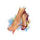 Fashion Girl — Feet as a style detail by Ldarro