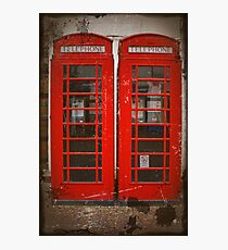 Red Telephone Boxes Photographic Print