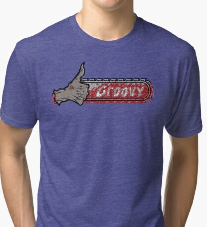 This is...Groovy Tri-blend T-Shirt