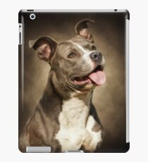 The American Blue Pit-Bull iPad Case/Skin