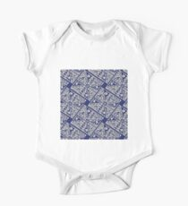vector abstract seamless pattern One Piece - Short Sleeve