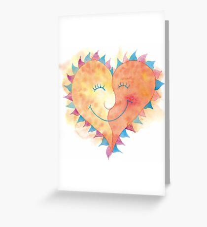 Valentine's Day Love T-Shirt Greeting Card