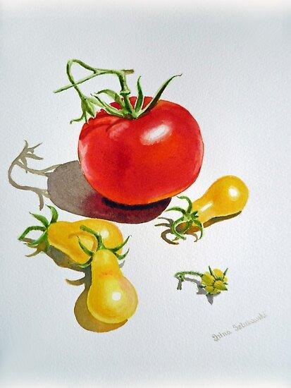 Tomatoes Dance by Irina Sztukowski