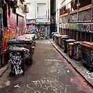 Graffiti Practice Lane by John Sharp
