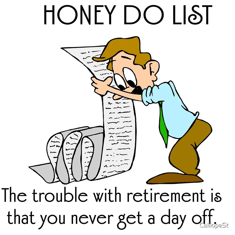 Image result for honey-do lists
