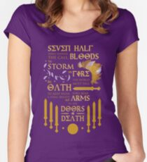 The Prophecy of Seven Women's Fitted Scoop T-Shirt
