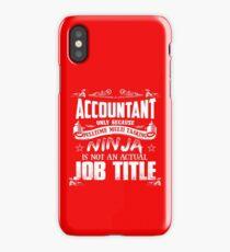 Proud Accountant iPhone Case/Skin