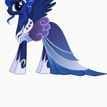 Luna In A Gown  by eeveemastermind