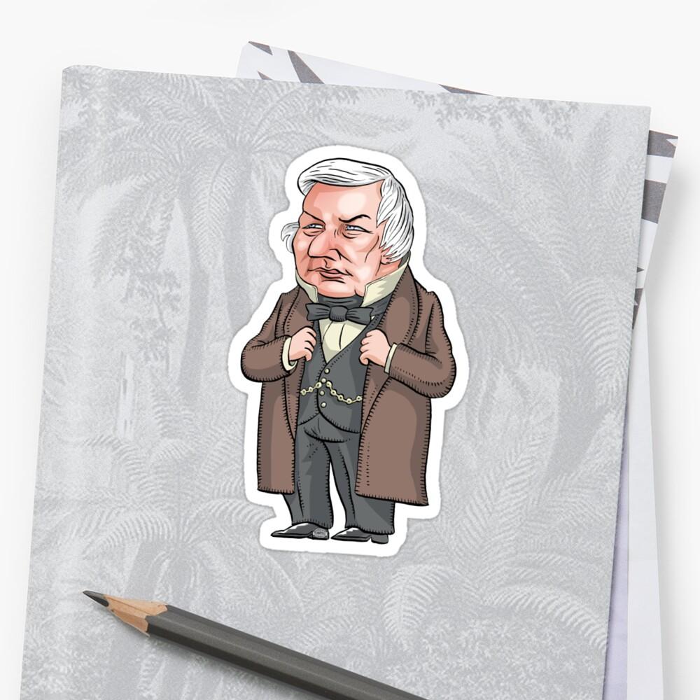 President Millard Fillmore by MacKaycartoons