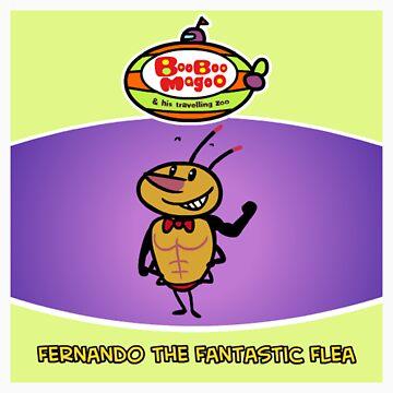 Fernando The Fantastic Flea by brendanwatson
