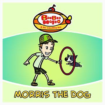 Morris The Dog by brendanwatson