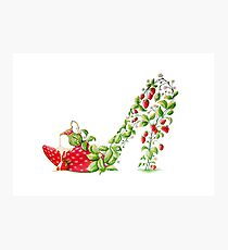 Strawberries & Cream Photographic Print