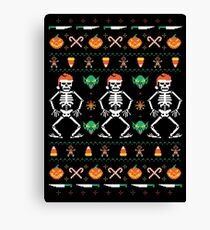 Trick or Christmas Canvas Print