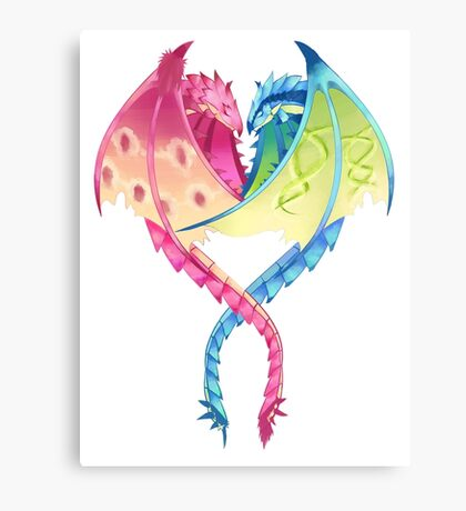 Monster Hunter Valentine  Canvas Print