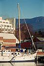 Mt Wellington & Constitution Dock, Hobart by BRogers
