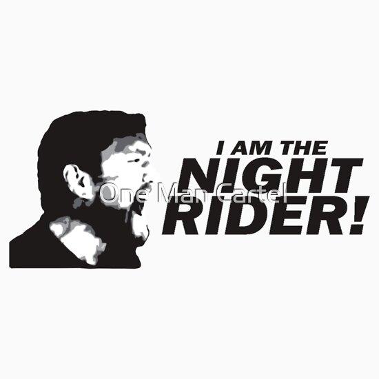 """I Am A Rider Djpunjab: I Am The Night Rider"""" Stickers By Antdragonist"""