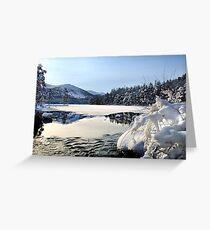Loch an Eilien, Aviemore Greeting Card