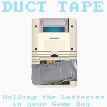 Duct Taped Game Boy by Wetasaurus