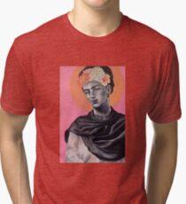Queen Frida Tri-blend T-Shirt