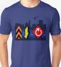 Up, Down, & All Around - Speed Highway Unisex T-Shirt