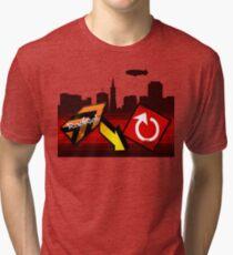 Vengeance Is Mine - Radical Highway Tri-blend T-Shirt