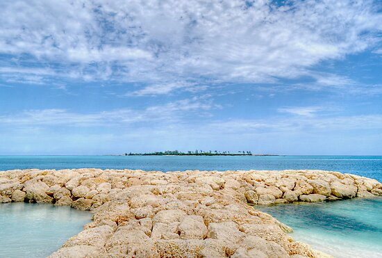 Saunders Beach in Nassau, The Bahamas by Jeremy Lavender Photography